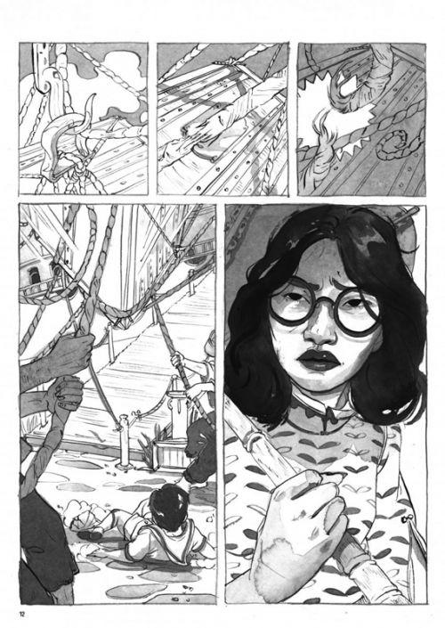 La trilogie de la citadelle T2 : Rives d'automne (0), manga chez Urban China de Opotowsky, Hoffmeister