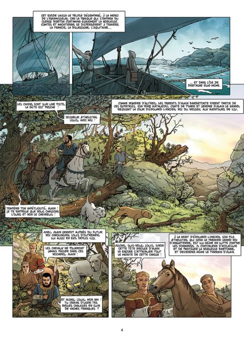 Breizh – Histoire de la Bretagne T4 : Les Hommes du Nord (0), bd chez Soleil de Jigourel, Jarry, Tavernier, Lopez