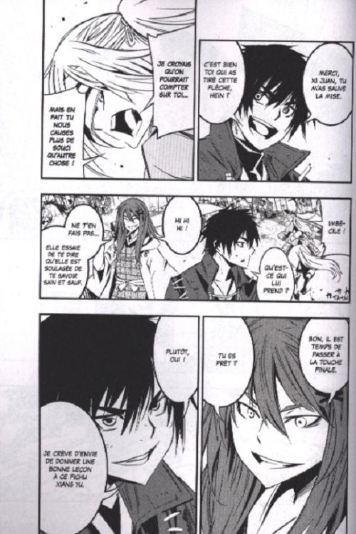 Red dragon T3, manga chez Glénat de Ikeno