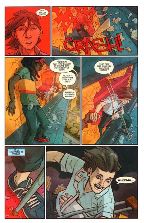 Miss Marvel T6 : Dégâts par seconde (0), comics chez Panini Comics de Wilson, Miyazawa, Gaston, Andolfo, Herring, Blake II