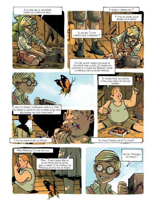 Le Réseau Papillon T1 : Aux arts, citoyens ! (0), bd chez Jungle de Dumanche, Otéro, 1ver2anes