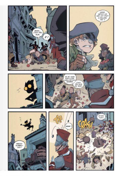 Les Incroyables aventures de l'enfant plume T1 : Le labyrinthe (0), bd chez Glénat de Corona, Hickman