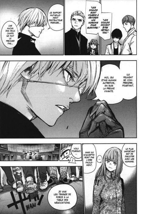 Tokyo ghoul:re T10, manga chez Glénat de Ishida