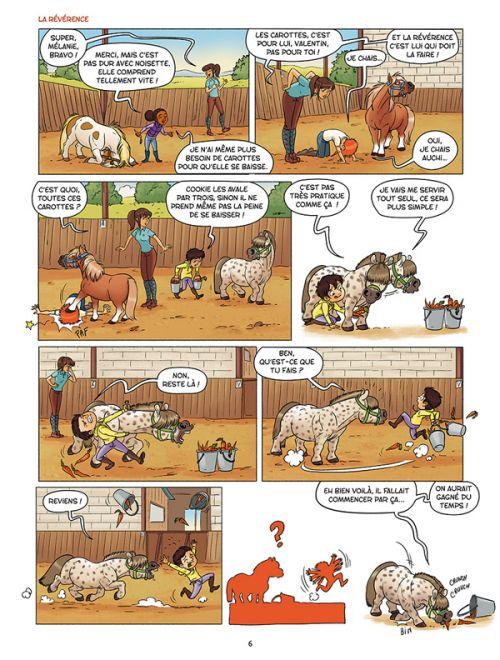 A cheval ! T4 : Et vous trouvez sabot ? (0), bd chez Delcourt de Dufreney, Prickly, Paillat