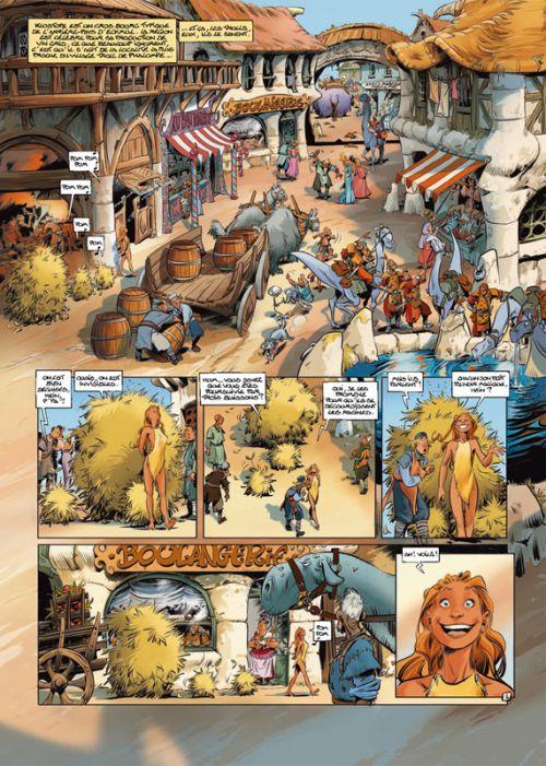 Trolls de Troy T6 : Tome 17, La trolle impromptue ; Tome 18, Pröfy Blues ; Tome 19, Pas de Nöl pour le Père Grommël (0), bd chez Soleil de Arleston, Mourier, Guth