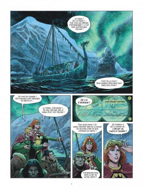 Les Mondes de Thorgal – cycle La jeunesse de Thorgal, T6 : Le drakkar des glaces (0), bd chez Le Lombard de Yann, Surzhenko, Rosinski