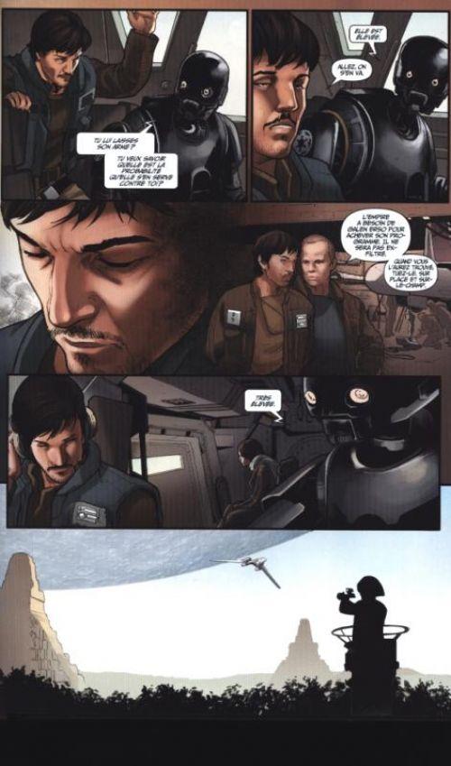 Rogue One - A Star Wars Story, comics chez Panini Comics de Houser, Villanelli, Bazualda, Laiso, Rosenberg, Noto