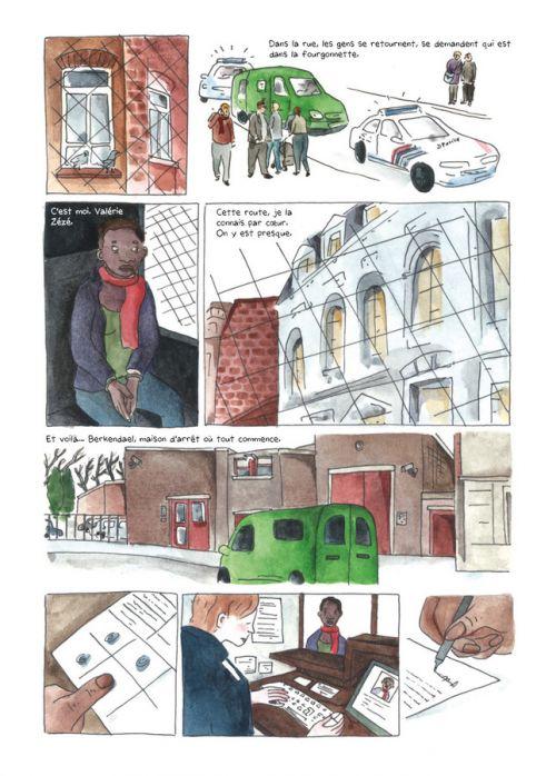 La ballade des dangereuses : journal d'une incarcération (0), bd chez La boîte à bulles de Hermans, Hermans