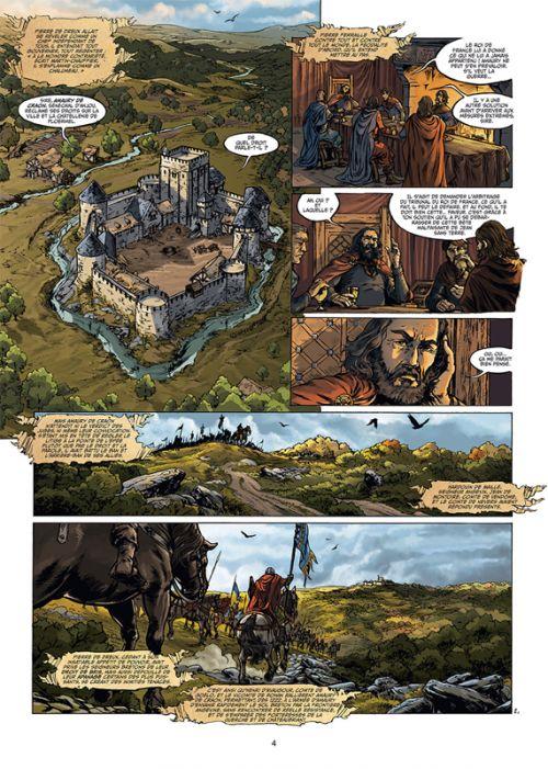 Breizh – Histoire de la Bretagne T5 : La Guerre des deux Jeanne (0), bd chez Soleil de Jarry, Jigourel, Lemercier, Seurre-le bihan