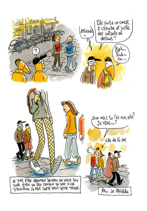 Les petits riens de Lewis Trondheim T8 : Tout est à sa place dans ce chaos exponentiel (0), bd chez Delcourt de Trondheim