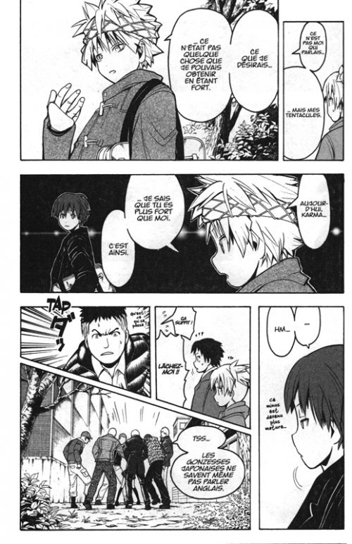 Assassination classroom T19, manga chez Kana de Yusei