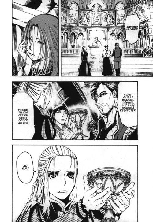 Sangreal T2, manga chez Kana de Terayama