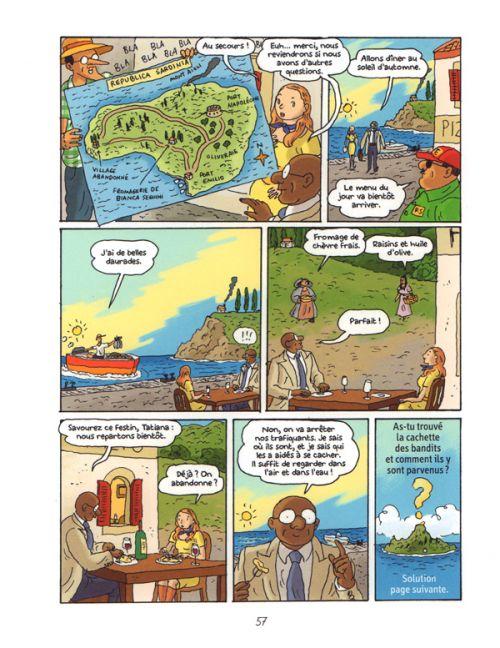 Les Enquêtes du docteur Enigmus T4 : 20 millions sous les mers (0), bd chez BD Kids de Martin, Broersma, Croix