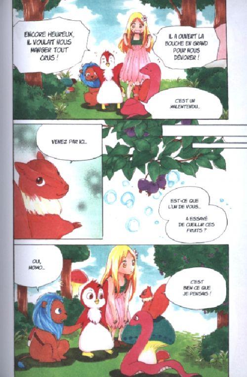 Momo et le messager du soleil T1, manga chez Ki-oon de Sasano