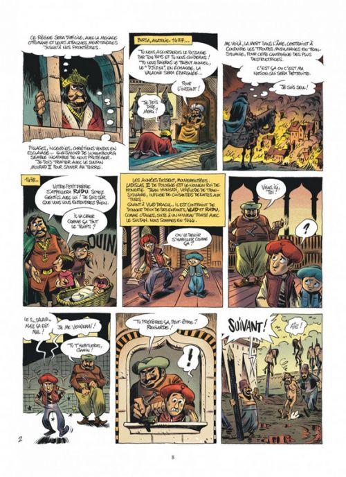 Les Méchants de l'histoire T1 : Dracula (0), bd chez Dupuis de Swysen, Solé, BenBK