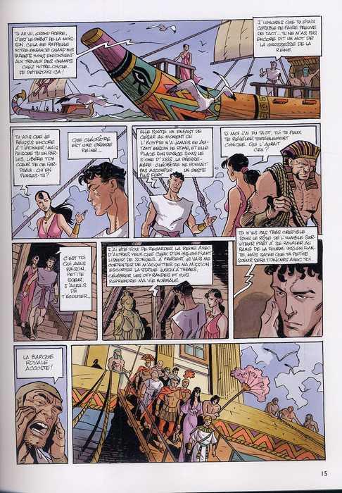 La dernière reine T2 : Le scorpion de Karnak (0), bd chez Dupuis de Weber, Caracuzzo, Kathelyn