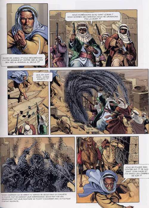 L'histoire secrète T8 : Les 7 piliers de la sagesse (0), bd chez Delcourt de Pécau, Kordey, Chuckry