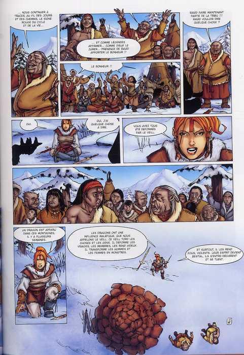 La geste des Chevaliers Dragons T6 : Par delà les montagnes (0), bd chez Soleil de Ange, Sieurac, Paitreau