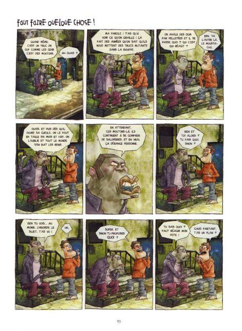 Les Lascars, bd chez Jungle de El diablo, Seth, Popay