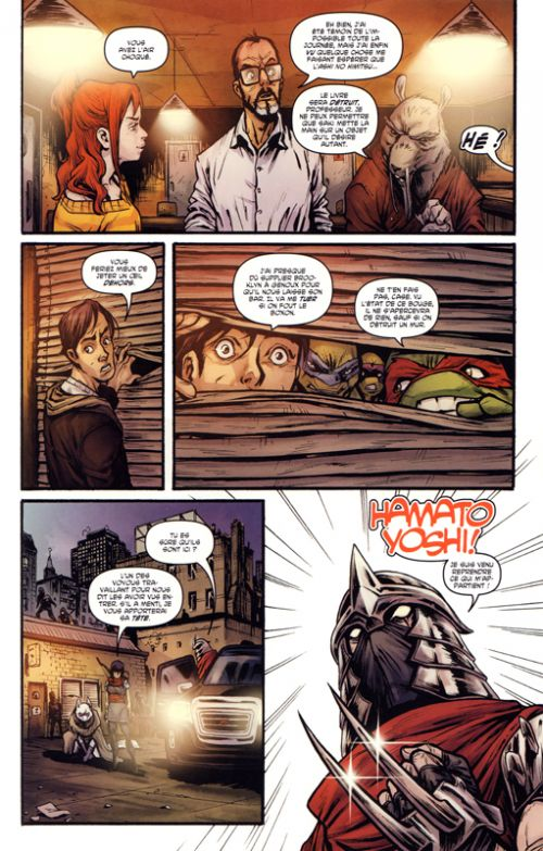 Les Tortues Ninja - TMNT - Teenage Mutant Ninja Turtles : L'histoire secrète du clan foot (0), comics chez Hi Comics de Burnham, Santolouco, Vieira, Vieira