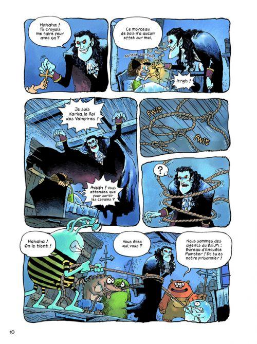 Archibald T4 : Vampire et Cie (0), bd chez Sarbacane de Hyung-min