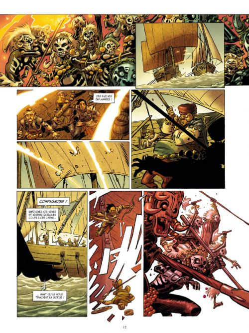 Conan le Cimmérien T1 : La Reine de la côte noire (0), bd chez Glénat de Morvan, Alary, Sedyas