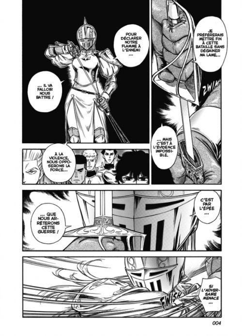 Stravaganza - La reine au casque de fer T6, manga chez Casterman de Tomi