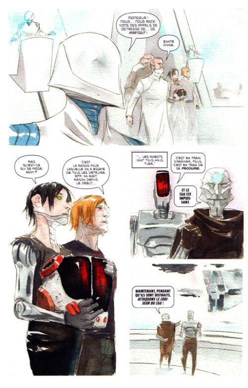 Descender T5 : Le soulèvement (0), comics chez Urban Comics de Lemire, Nguyen