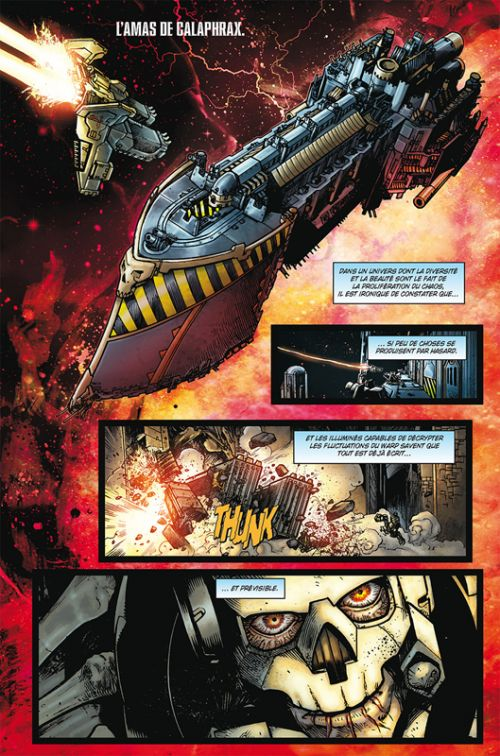 Warhammer 40.000 T3 : Déchus (0), comics chez Soleil de Mann, Bettin, Angiolini