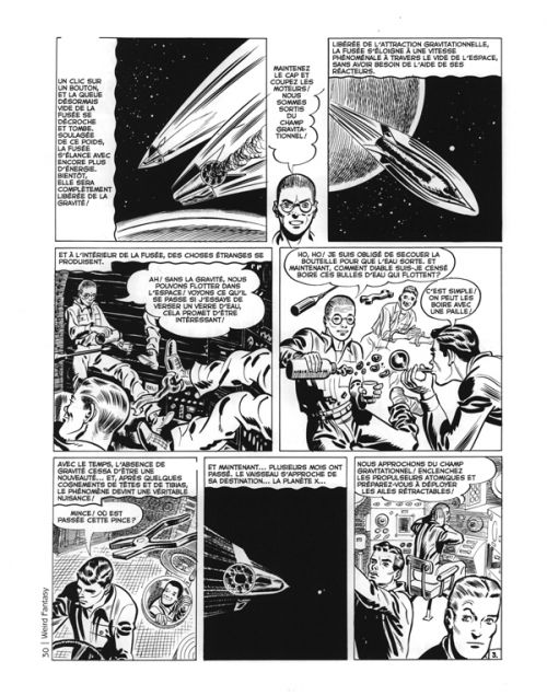 Weird Fantasy, comics chez Akileos de Gaines, Feldstein, Kurtzman, Fox, Wood, Kamen
