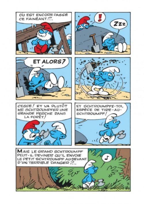 Les Mini-récits des Schtroumpfs T1 : Les Schtroumpfs noirs (0), bd chez Dupuis de Peyo