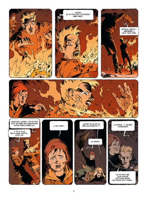 Gudesonn T2 : La poussière des Dieux (0), bd chez Delcourt de Convard, Boisserie, Adam, Mr Fab
