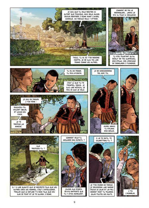 Médicis T5 : Isabelle - Du baiser au poignard (0), bd chez Soleil de Peru, Campanella Ardisha, Jacquemoire