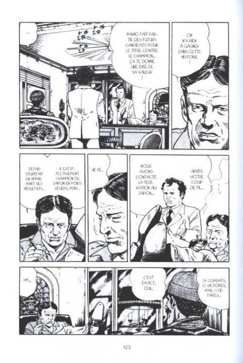 Blue corner, manga chez Pika de Taniguchi
