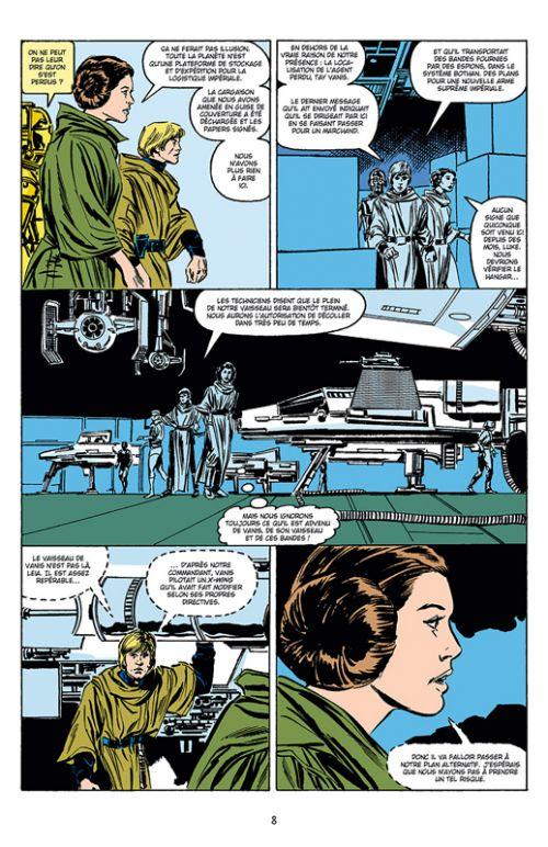 Star Wars Classic T8, comics chez Delcourt de Richardson, Goodwin, Duffy, Grant, Stradley, Frenz, Sienkiewicz, Williamson, Carzon, McLeod, Palmer, Sharen, Scheele, Wein