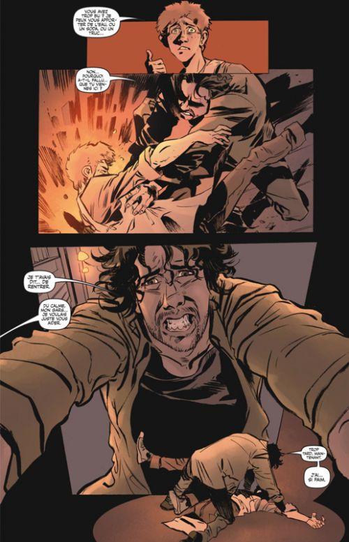 Cannibal T1, comics chez Glénat de Buccellato, Young, Bergara