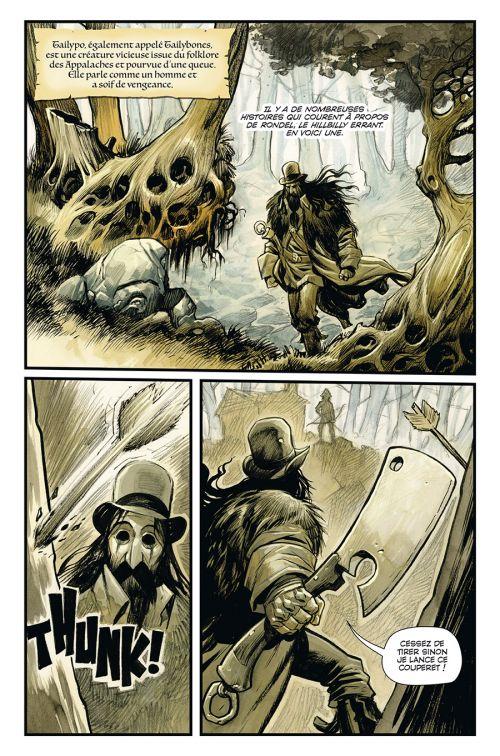 Hillbilly T2, comics chez Delcourt de Powell