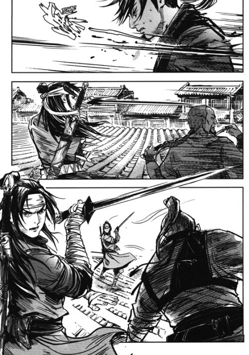 Blood & steel  T8, manga chez Kotoji de Jozev, Ip, Unicorn studios