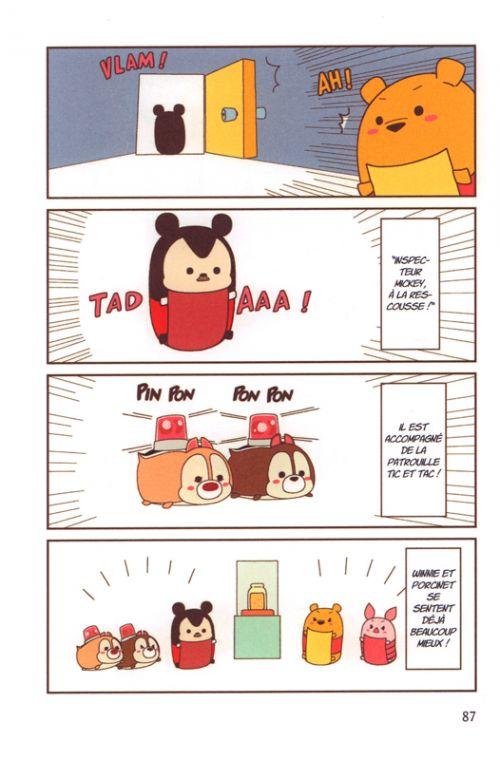 Tsum Tsum, manga chez Nobi Nobi! de Shirota