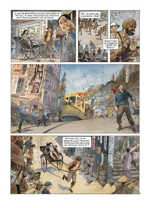 China Li T1 : Shanghai (0), bd chez Casterman de Charles, Charles