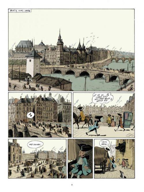 Mozart à Paris, bd chez Casterman de Duchazeau, Walter