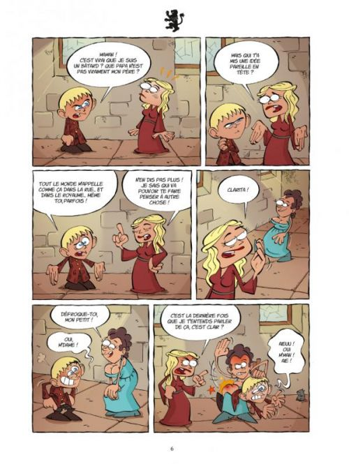 Game of crowns T2 :  Spice and Fire (0), bd chez Casterman de Lapuss', Baba, Tartuff