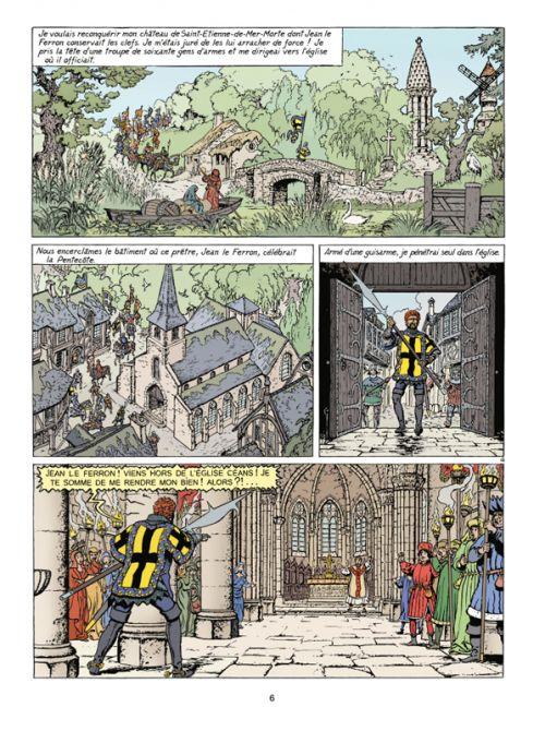 Jhen T17 : Le Procès de Gilles de Rais (0), bd chez Casterman de Pleyers, Belhadj Kacem , Pleyers
