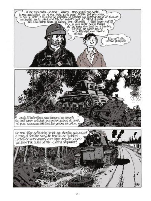 Moi René Tardi, prisonnier de guerre au StalagIIB T3 : Après la guerre (0), bd chez Casterman de Tardi, Ruault