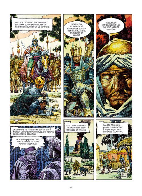 Roncevaux, bd chez Les éditions du Long Bec de Hernandez Palacios