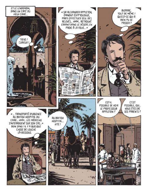 Les Aventures de Victor Billetdoux T1 : La pyramide oubliée (0), bd chez Les aventuriers de l'Etrange de Wininger, Galopin