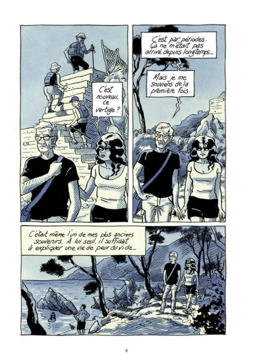La Terreur des hauteurs, bd chez Futuropolis de Denis