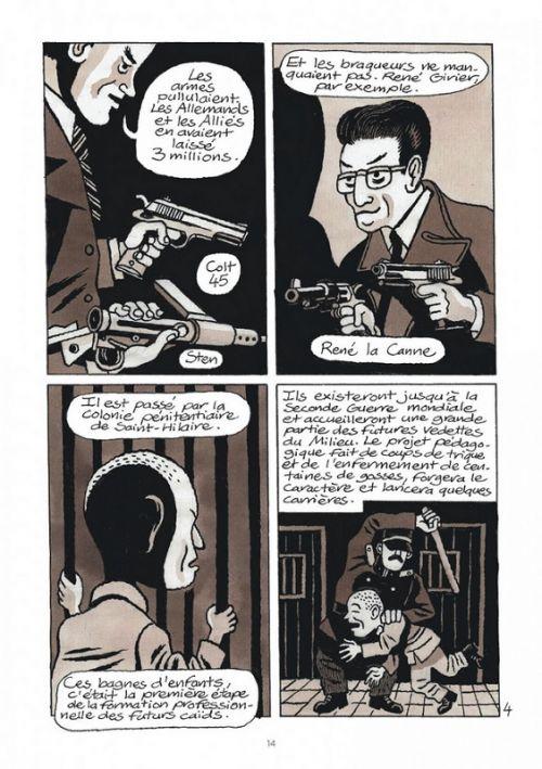 La Petite bédéthèque des savoirs T25 : Le grand banditisme (0), bd chez Le Lombard de Pierrat, David B.