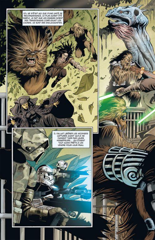Star Wars - Clone Wars T10 : Epilogue (0), comics chez Delcourt de Hartley, Ostrander, Duursema, Parsons, Wheatley, Chuckry, Pattison, Anderson, Giorello