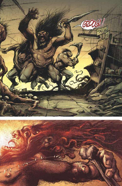 Devolution, comics chez Glénat de Remender, Wayshack, Boyd, Lee